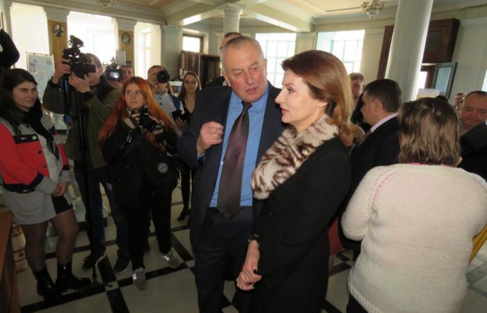 У Білій Церкві з робочим візитом перебувала Марина Порошенко